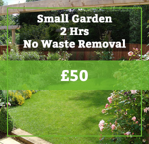 small garden no waste removal